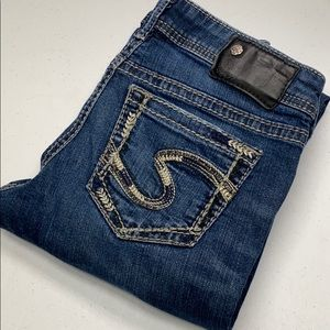 Womens Silver Jeans Aiko Boot 25x33